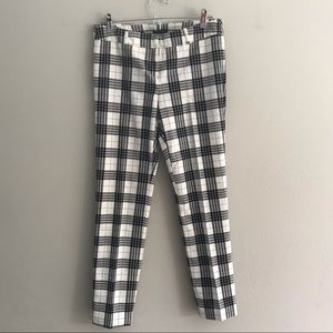 90s vintage style plaid Columnist slacks / pants